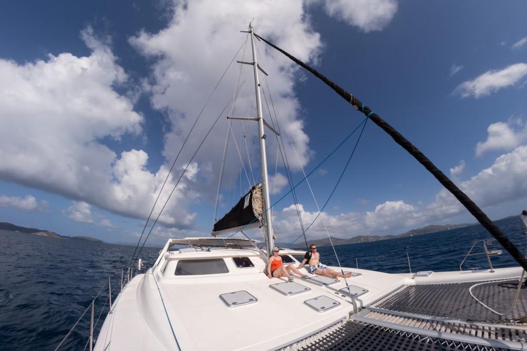 Freedom Seeker, deck, under engines
