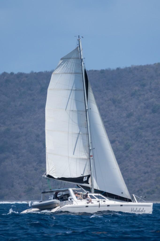 Holoholo Sailing to Virgin Gorda