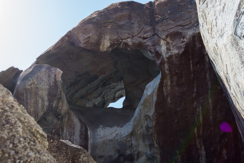Giant arch at The Baths