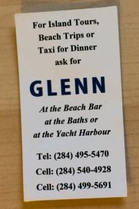 Glenn's Card