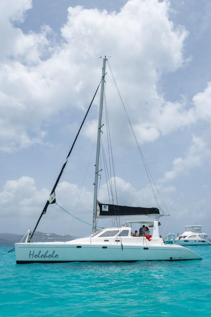 Holoholo moored