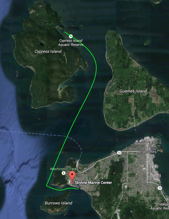 Anacortes to Eagle Harbor