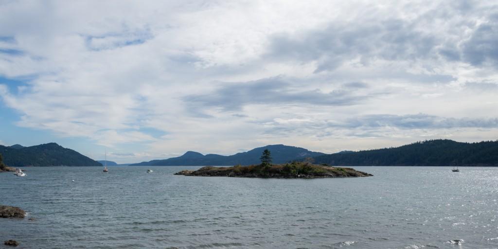 Indian Island and Fishing Bay, Eastsound, WA